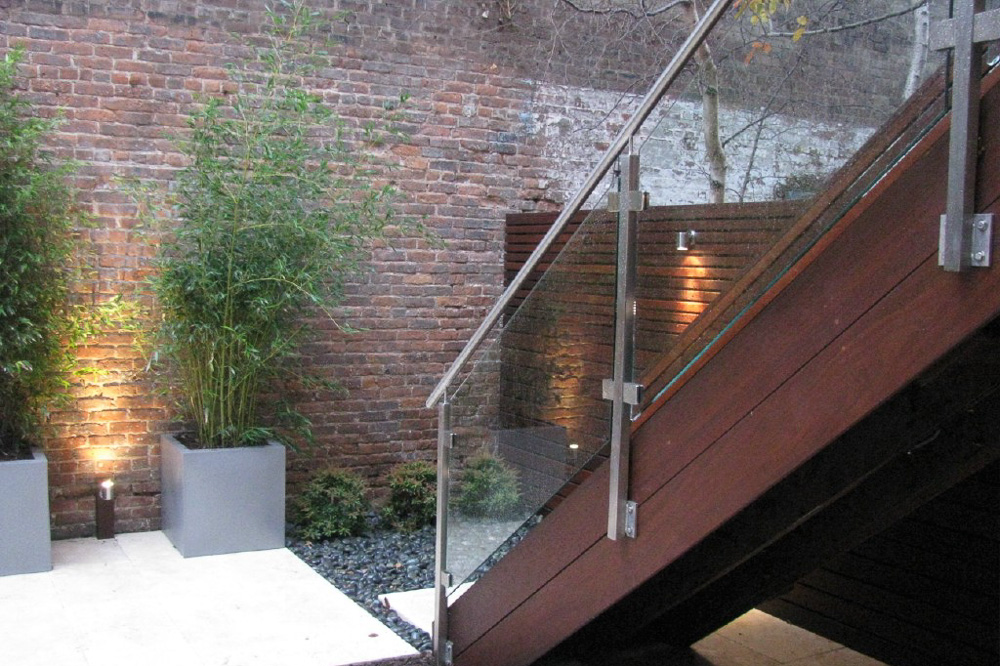 A beautiful home after deck installation in Hoboken, NJ