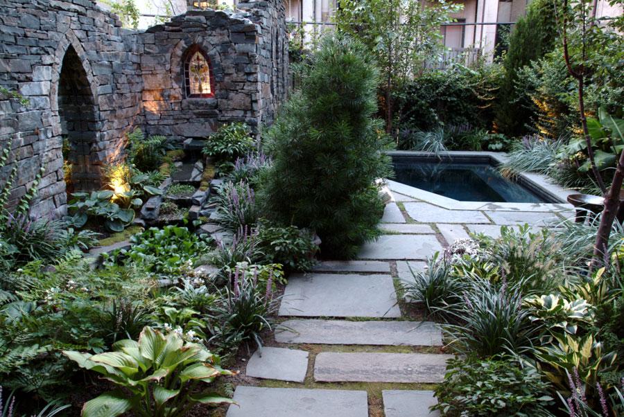 Award winning garden design near hoboken nj for Award winning backyard designs