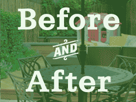 Before and After Backyard Patio Designs